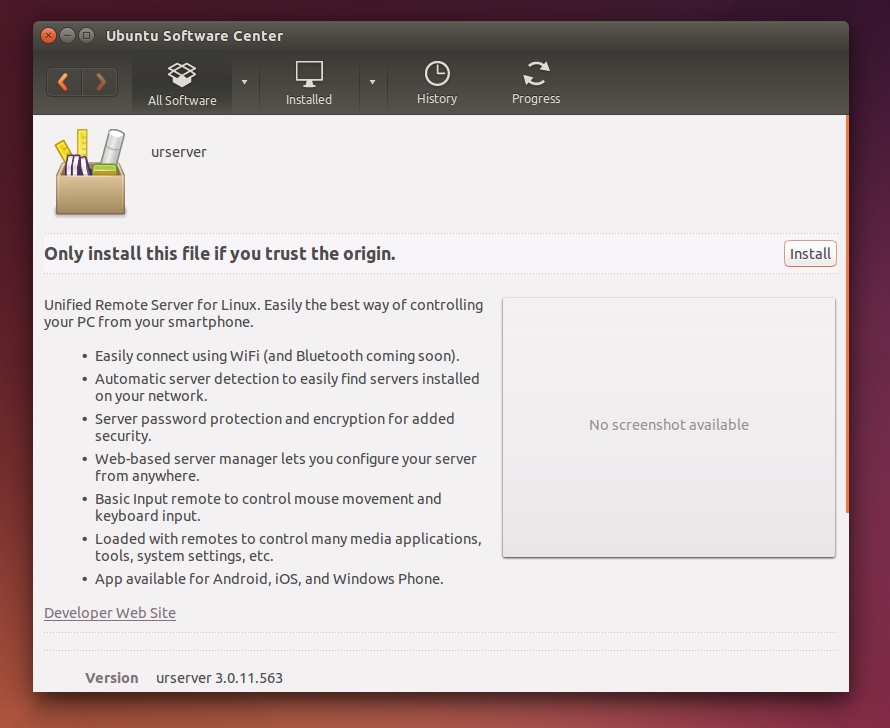 How To Install Unified Remote Server on Ubuntu – Unified Remote