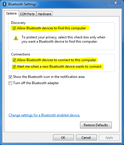 How To Setup Bluetooth on Windows – Unified Remote