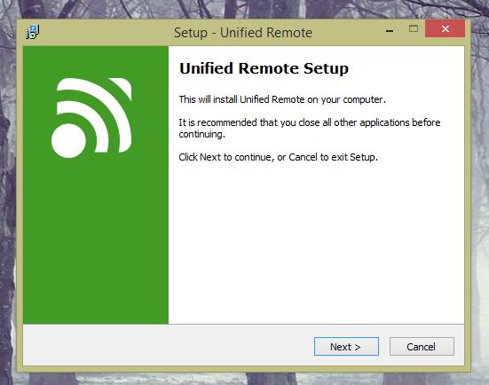 unified remote raspberry pi