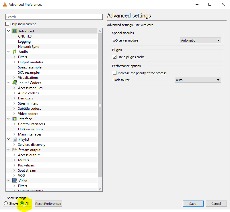 How To Configure VLC Advanced – Unified Remote